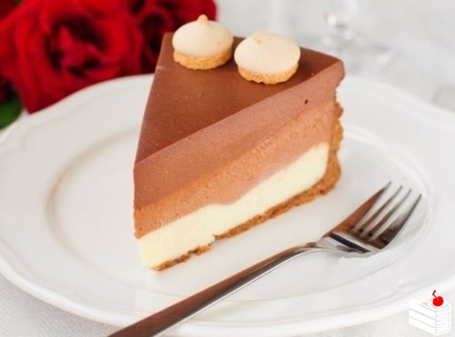"Торт ""Три шоколада""."
