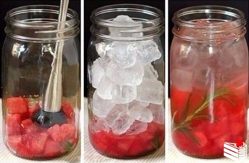 Рецепты приготовления полезной и вкусной воды из фруктов и трав