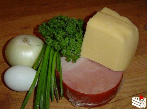 Картофель с начинкой.