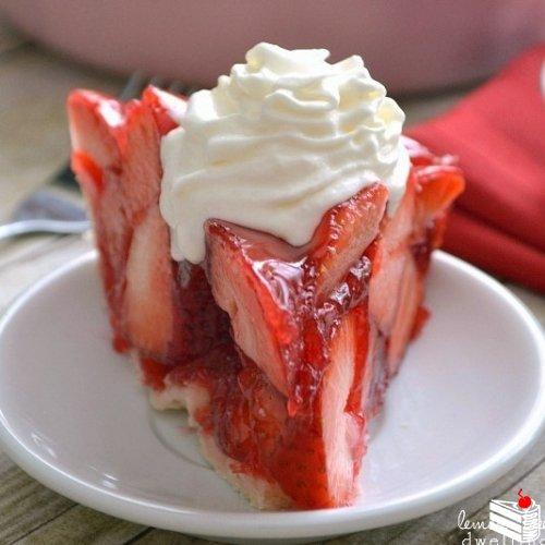 Клубничный пирог.
