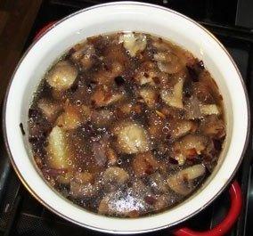 Грибной суп-пюре из шампиньонов.