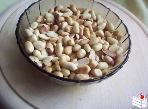 Щербет с арахисом