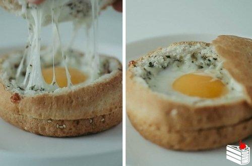 Идея для завтрака. Сохраните себе