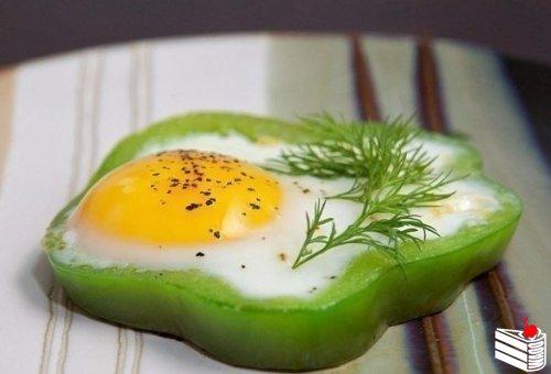 Идея для яичницы.