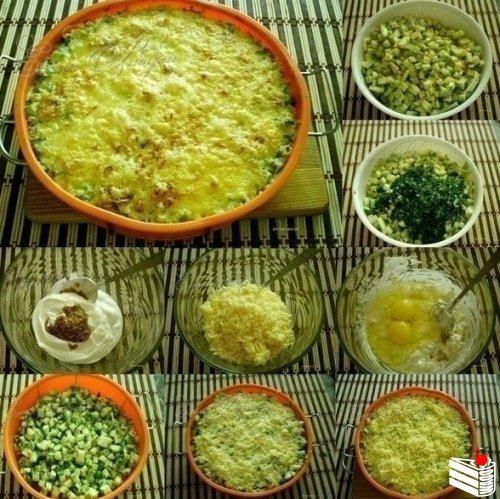 Кабачки, запеченные с сыром — объедение!