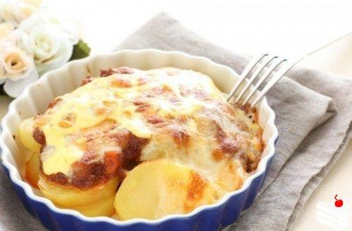 Запеченный картофель по-французски
