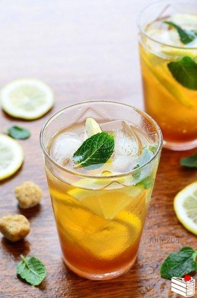 Холодный чай: 5 летних идей!