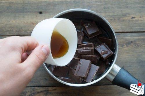 Очень быстрый шоколадный мусс.