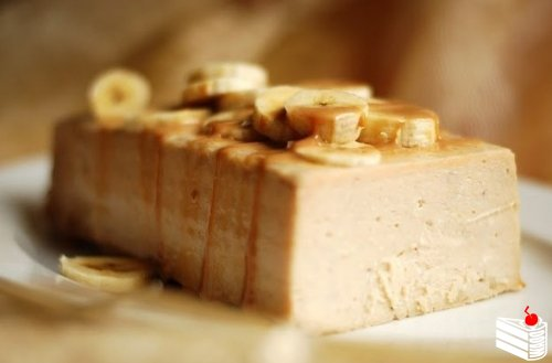 Банановый чизкейк-запеканка без основы с творогом