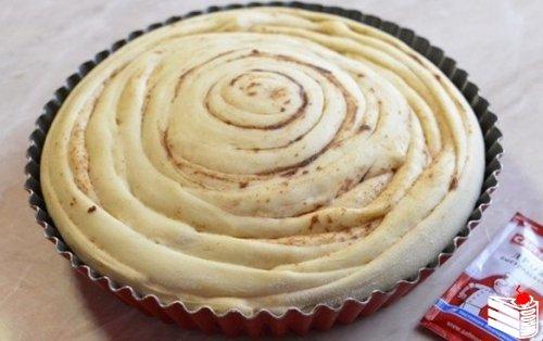 Шотландский спиральный пирог.