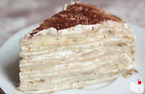 Быстрый тортик без выпечки.