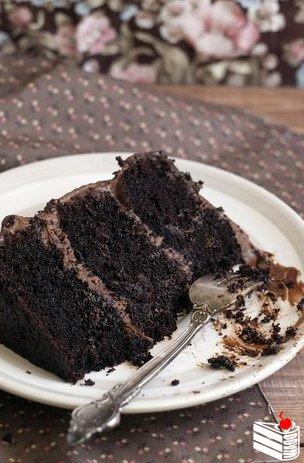 Шоколадный торт. Идеальный.