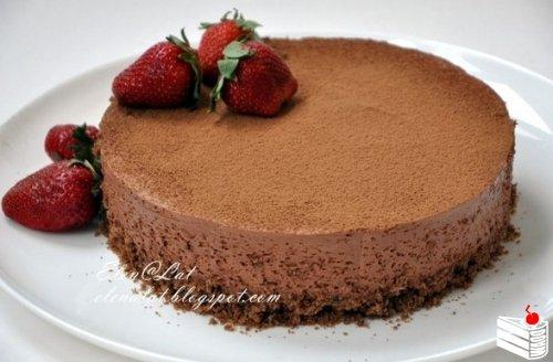 Трюфельный торт.