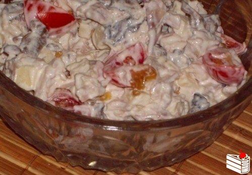 Топ - 6 салатов с КУРИНЫМ ФИЛЕ.