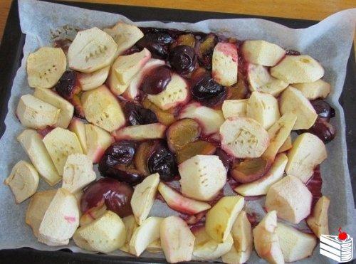 Яблочно-сливовая пастила.