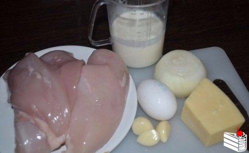 Куриные шарики в сливочном соусе.