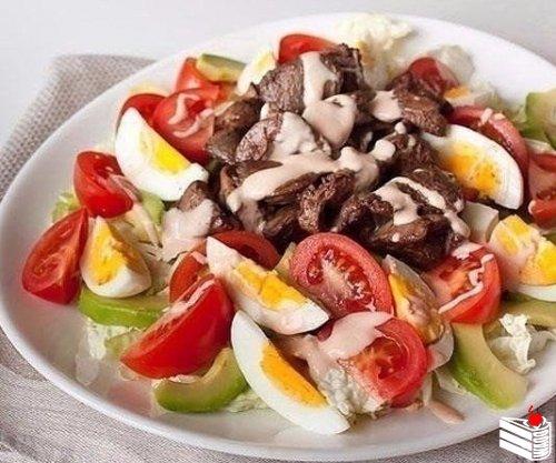 Вкусные салаты: Топ-8 рецептов