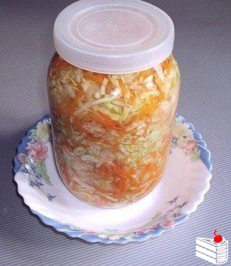 Вкусная капустка за сутки