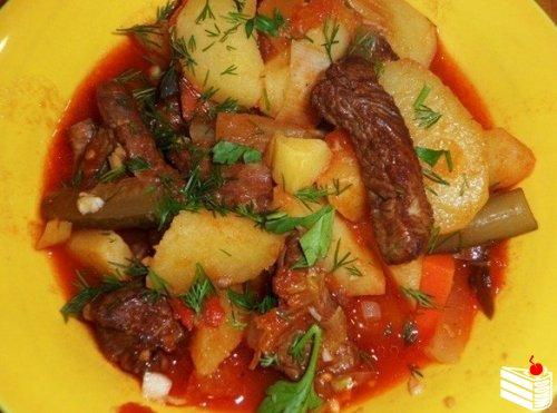 Татарская кухня рецепты с фото вторые блюда