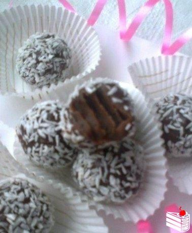 Бригадейро (конфеты из сгущенки).
