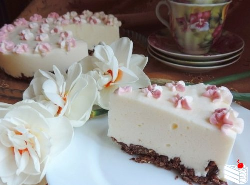 Торт «Птичье молоко» (без выпечки).