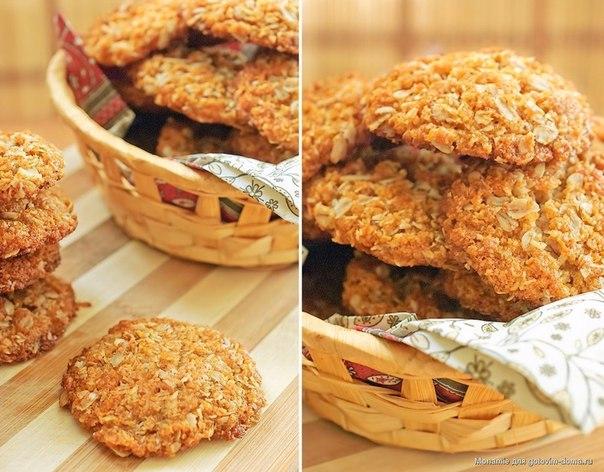 Диетическое овсяное печенье без муки рецепт