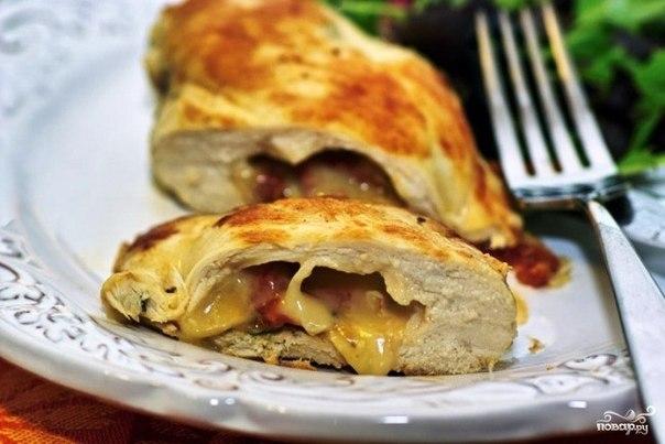 Фаршированные булочки - быстрый завтрак