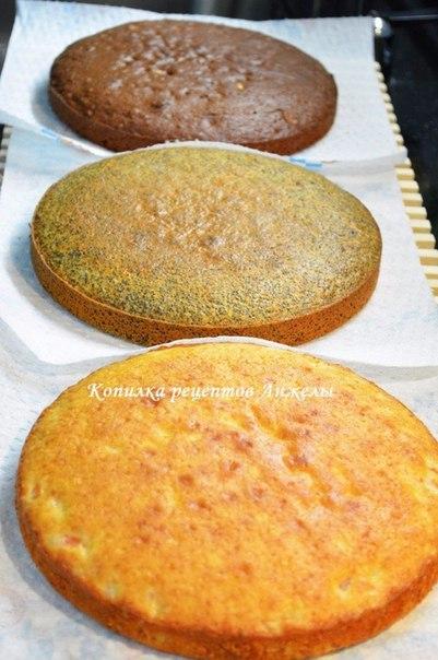 Киевский торт Акилежна.