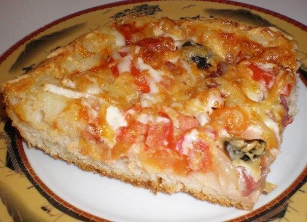 Есть пицца тонкая, а есть пицца вкусная! Данный рецепт пиццы особенно понравится любителям домашней …