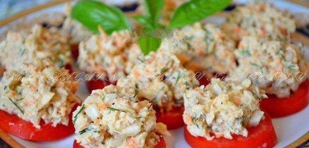 Закуски из рыбных консервов рецепты с фото
