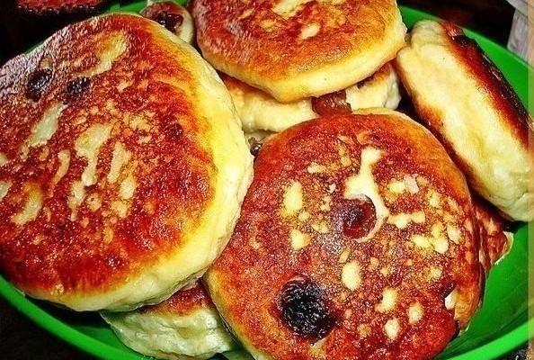 Оладьи с кабачками и сыром.
