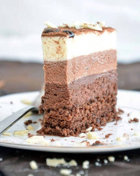 Торт «Три шоколада».