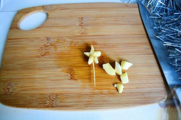 Идея десерта: фрутовый салат «Ёлочка»