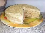 Творожный торт на сковородке