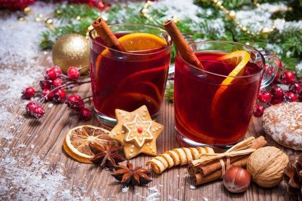 Рождественский рецепт глинтвейна