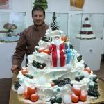 Зимний торт. Оцените ❤