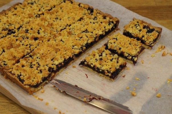 Венское печенье или тертый пирог на желтках.