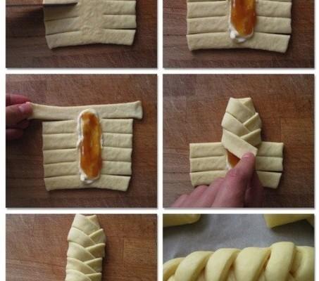 Классная идея для сосисок в тесте.